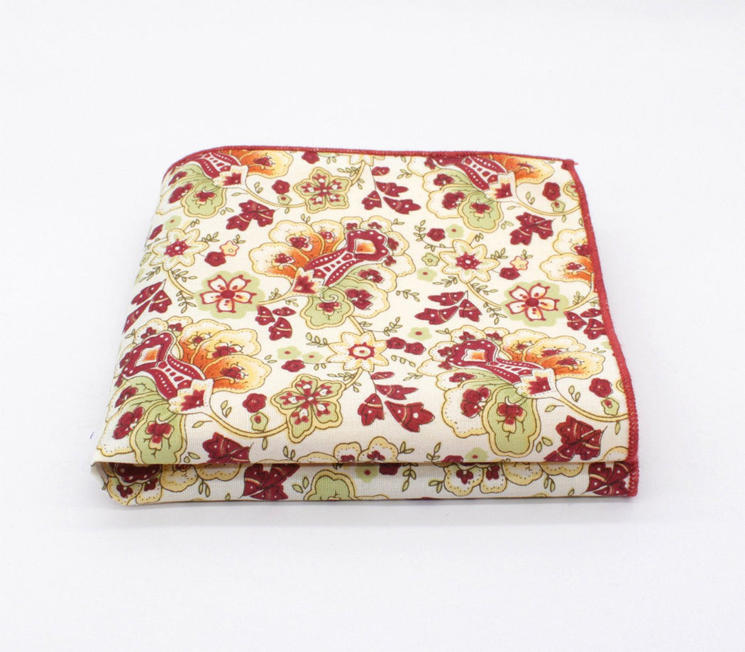 Soft Touch Flower Handkerchief