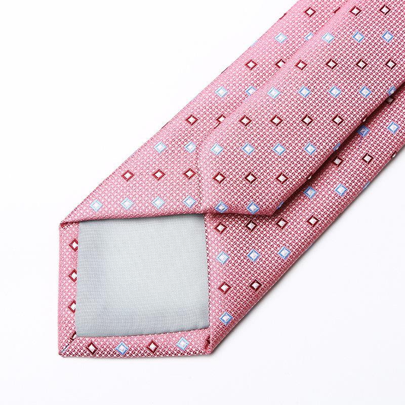 Square Pink Tie