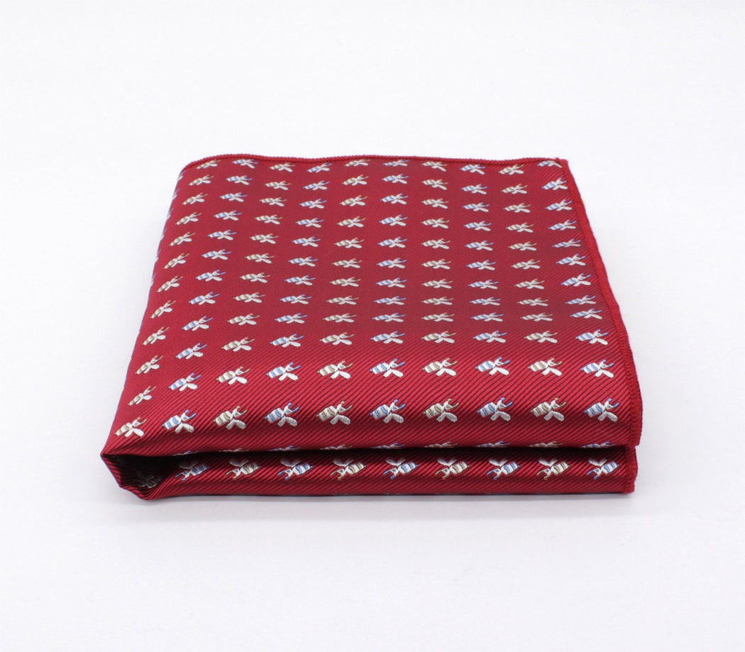 Velvet Luxury Pattern Pocket Square