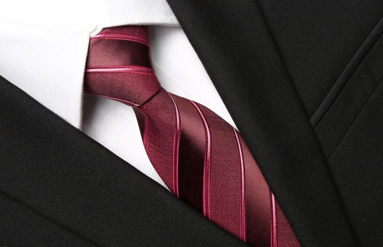 Wine Tasty Striped Tie