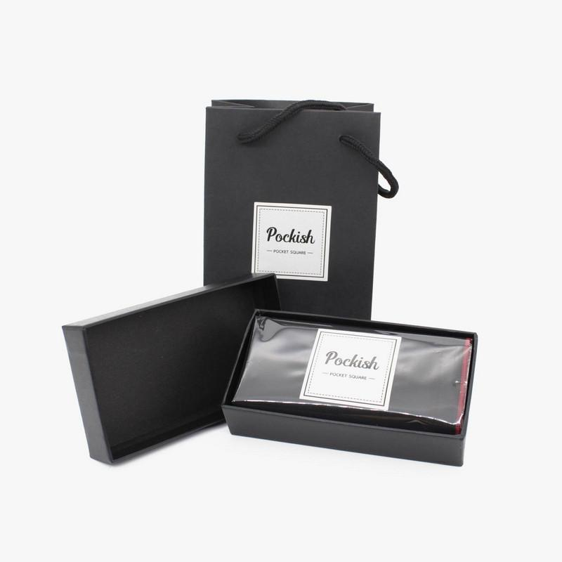Pockish Pocket Squares Packaging
