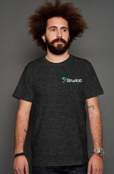 Paranoid Fabrications black heather t shirt