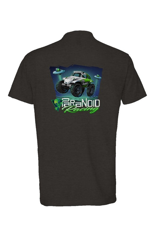 Paranoid Racing Tshirt (soft blend0