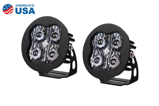 SS2 Sport Round Bezel LED Lights