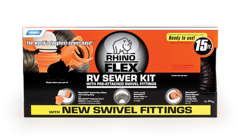 RhinoFLEX RV Sewer Kit