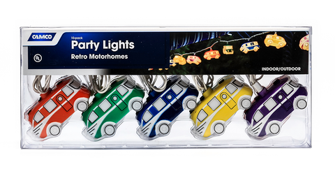 Motorhome Party Lights (Retro Style)