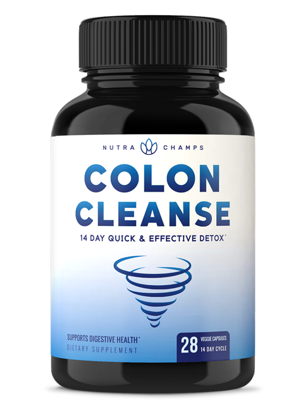 Colon Cleanse & Detox for Weight Loss [14 Day Quick Cleanser] Safe & Effective Formula with Probiotic & Digestive Enzymes for Constipation Relief - Capsules Supplement to Flush Toxins & Boost Energy