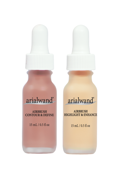 Arialwand Contouring Kit - Highligher & Bronzer with Hyaluronic Acid