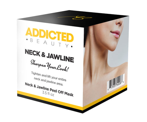 Neck & Jawline Peel Off Mask