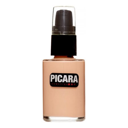 Picara Mistic Matte Foundation, Ebony, 1 Fl Oz