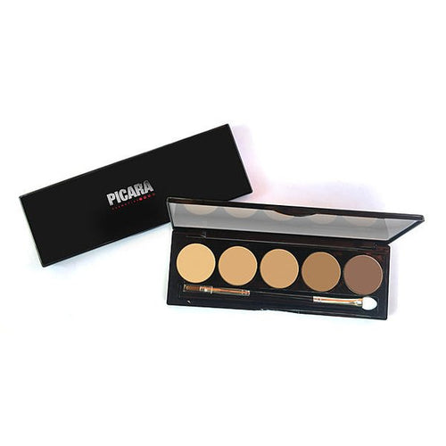 Picara Contour & Highlighting Cream Palette 5 Shade Light