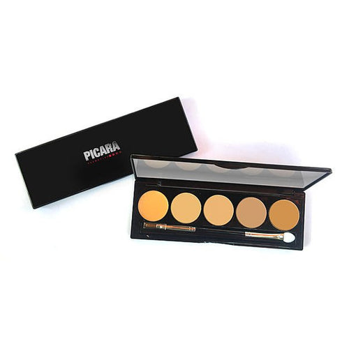 Picara Contour & Highlighting Cream Palette 5 Shade Super Light