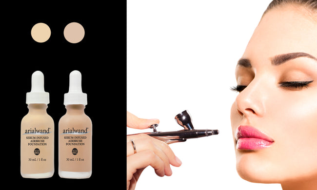 Arialwand Airbrush Foundation DUO - Light Skin Tone