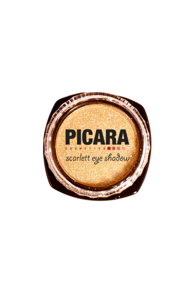 Picara Scarlett Eye Shadow - 24 Kt. Gold