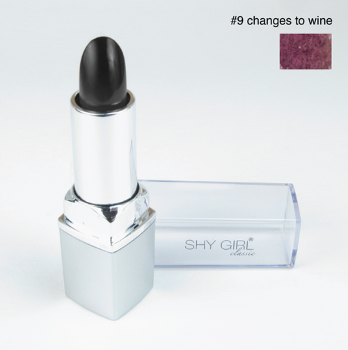 Shy Girl Color Changing Lip Stick - Black to Wine
