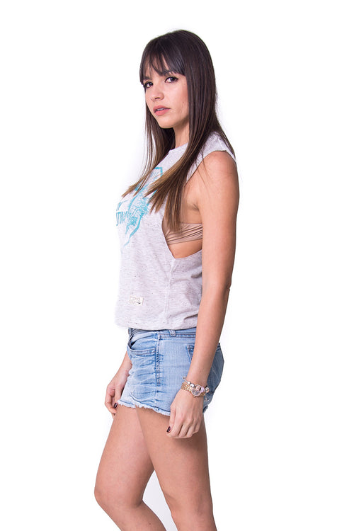 Tank Top Soy Latina Grey