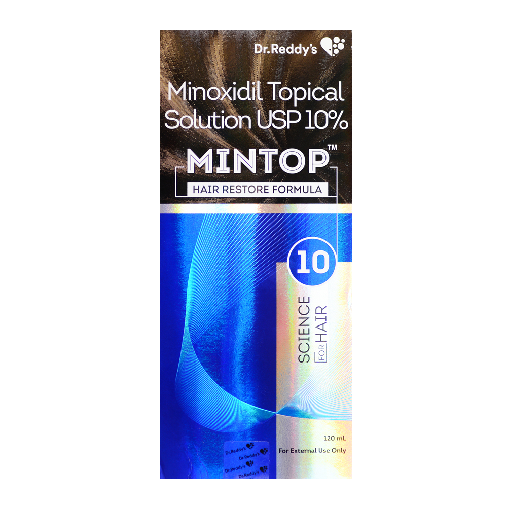 10% Mintop 120ml ( 2 Month Supply) Minoxidil Extra Strength Topical Solution Hair Regrowth