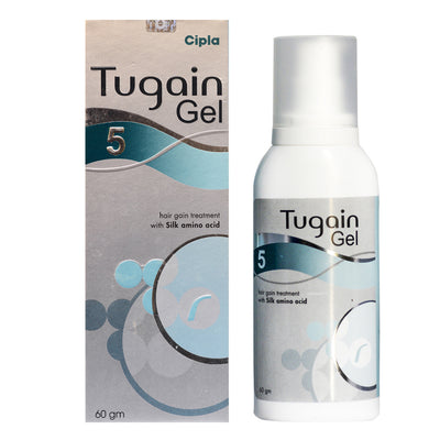 Tugain 5% GEL Minoxidil Extra Strength Hair Regrowth for Men