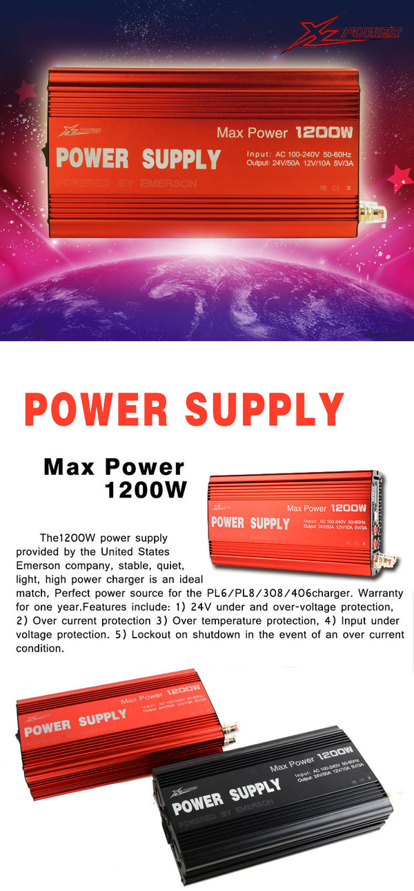 XLPower Supply 1200W