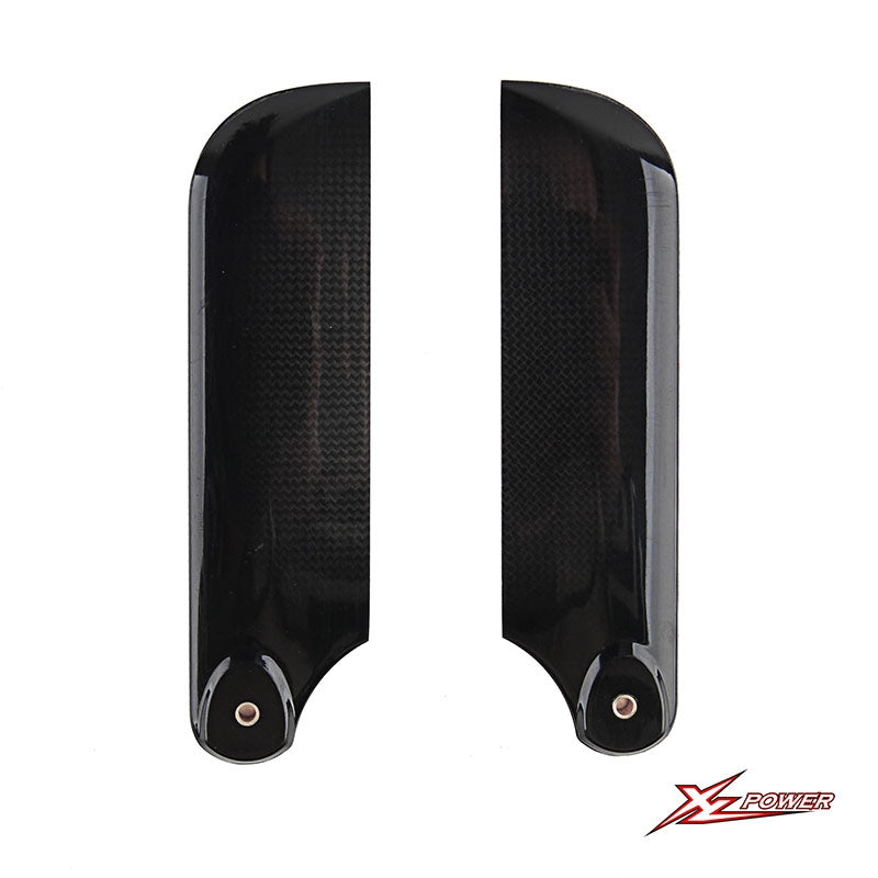 XL70T22 105mm Carbon Fiber Tail Blades