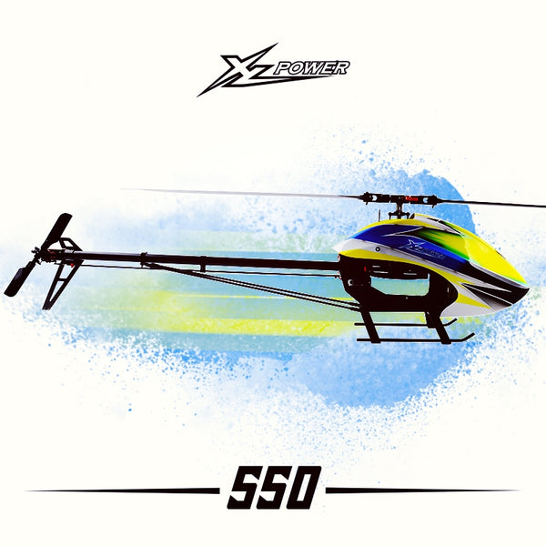XL55K01 XL550 with RT blades 4025 motor