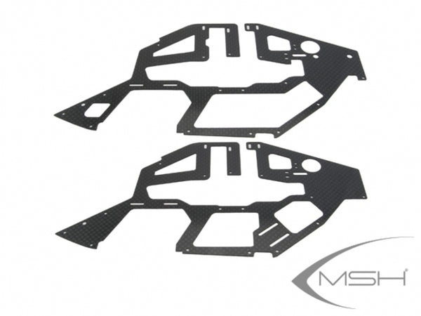 MSH41151 Carbon main frame set x2