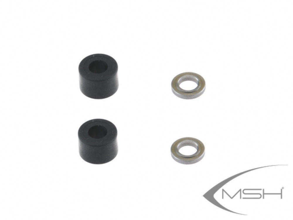MSH41155 Head dampers standard BLACK P380