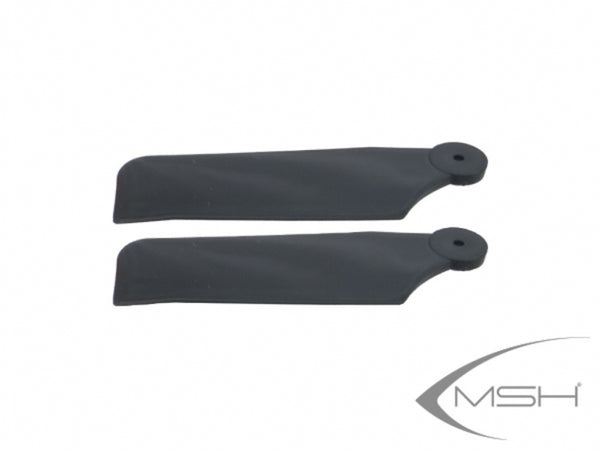 MSH41181 Tail blade Black 68mm