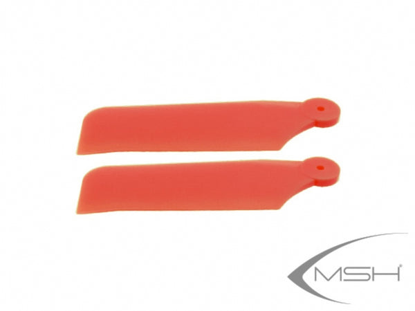 MSH41181 Tail blade Red 68mm