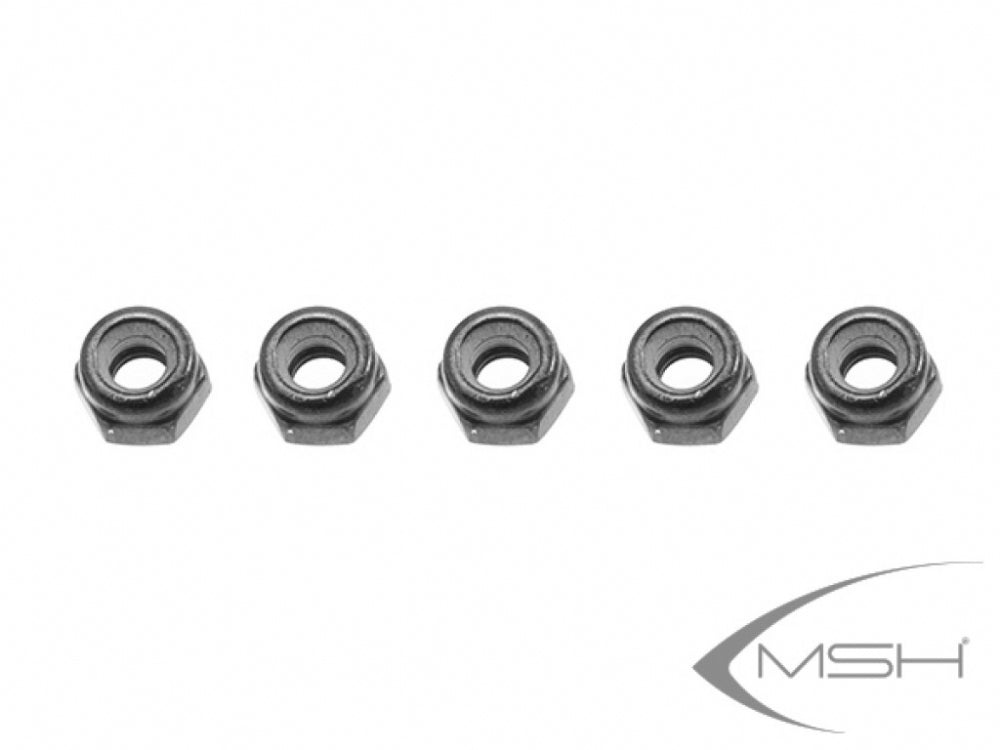 MSH71096 Nylon Lock Nuts M3
