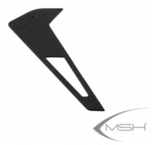 XL38T02 Vertical fin Black
