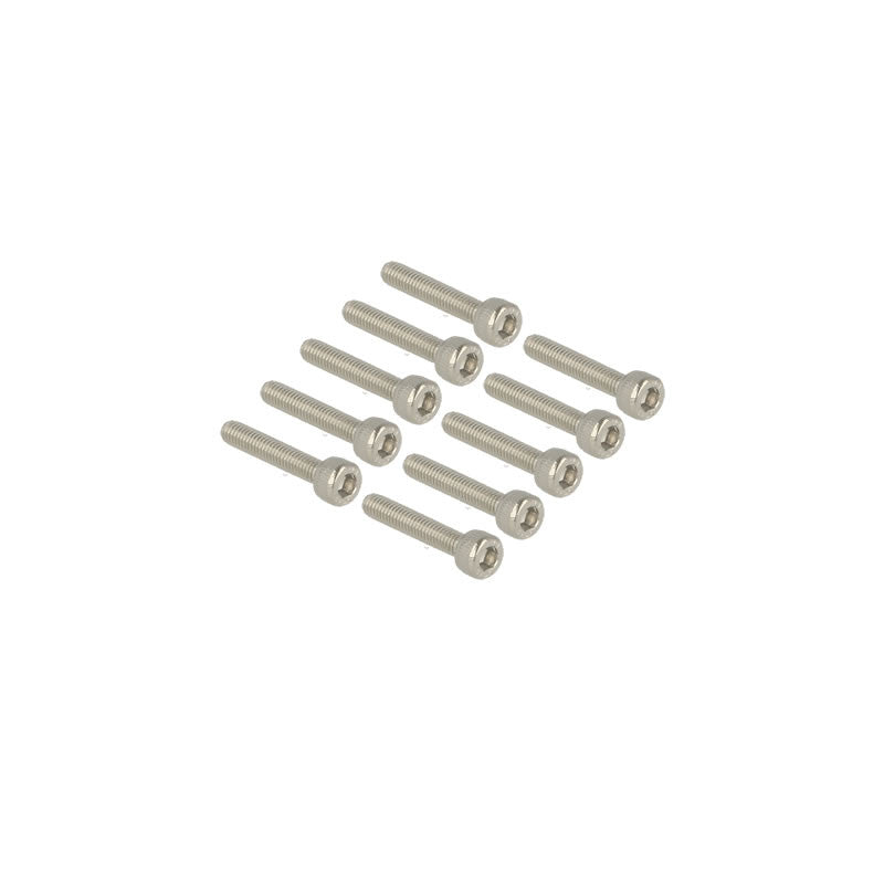 Cap head stainless bolt M3x16