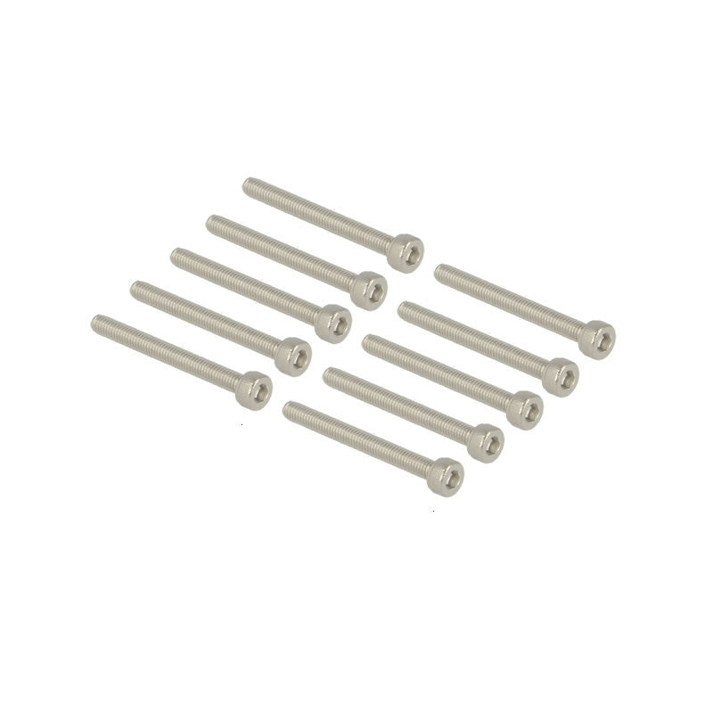 Cap head stainless bolts M3x28