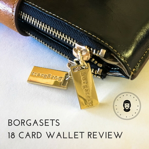 The Best 18 Card Wallet – Borgasets Malta RFID Zipper Wallet