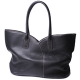 Katya Women Lage Tote Bag - Leather Shoulder Handbags, Fashion Ladies Purses Satchel Messenger Bags Black - Borgasets
