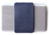 Slim Wallet Front Pocket Minimalist Thin Credit Card Holder Mini Size Men and Women Blue - Borgasets