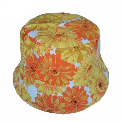 Yellow Flower Fedora - Darling Little One