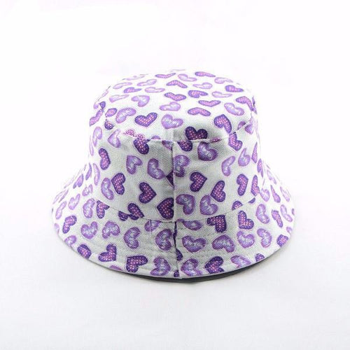 Purple Heart Fedora - Darling Little One