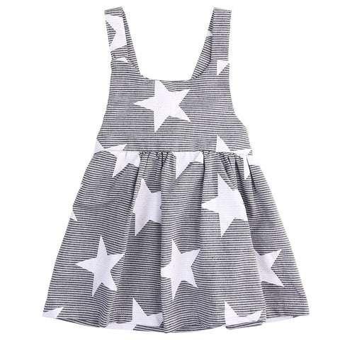 Arrow Print Dress with Headband
