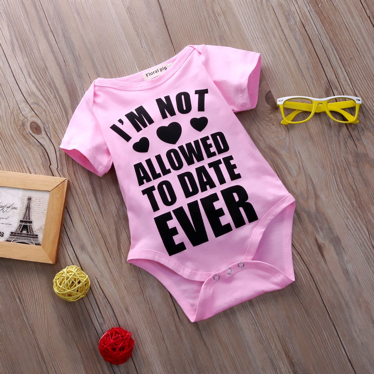 Not Allowed To Date Ever Onesie - Darling Little One