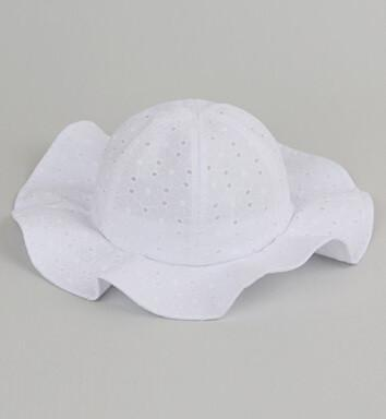 Sun Hat (Pink or White) - Darling Little One
