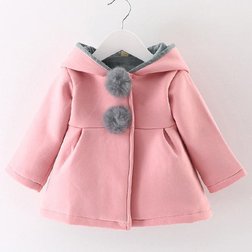 Rabbit Hooded Parka (more colors) - Darling Little One
