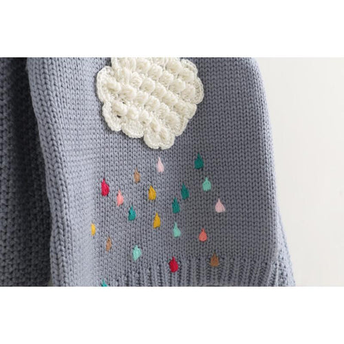 Rain Cloud Sweater (more colors) - Darling Little One