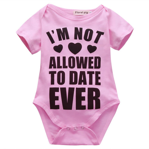 Not Allowed To Date Ever Onesie
