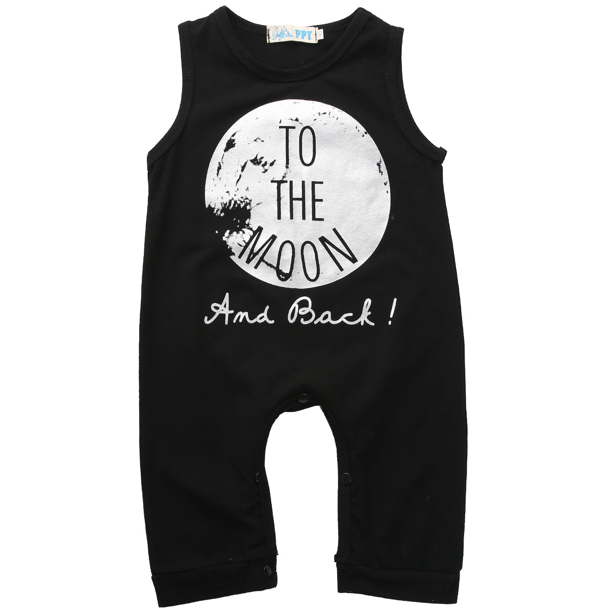 Moon and Back Romper - Darling Little One