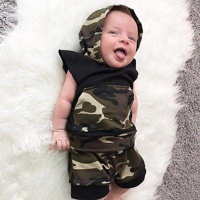 Camo 2-Piece Set - Darling Little One