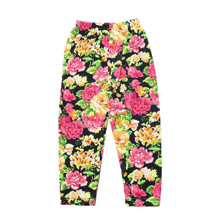 Floral Pants plus Cardigan Set - Darling Little One