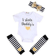 Stole Daddy's Heart Set (4 pcs) - Darling Little One