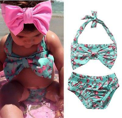 Flamingo Bikini - Darling Little One