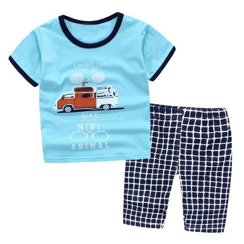 Cars and Jeans Set (4 pcs)